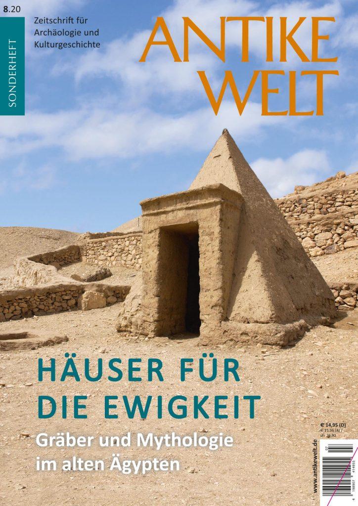 Cover Antike Welt Sonderheft 8/20 Häuser für die Ewigkeit