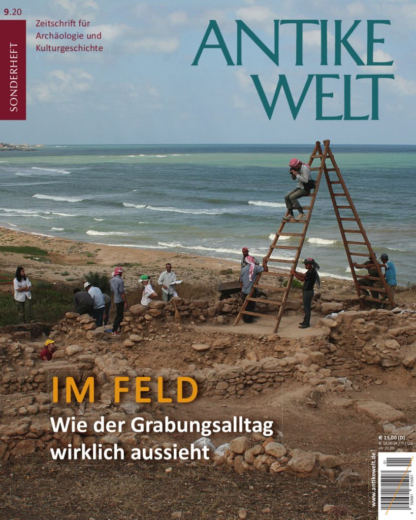 Cover Antike Welt Sonderheft 10/20 Im Feld