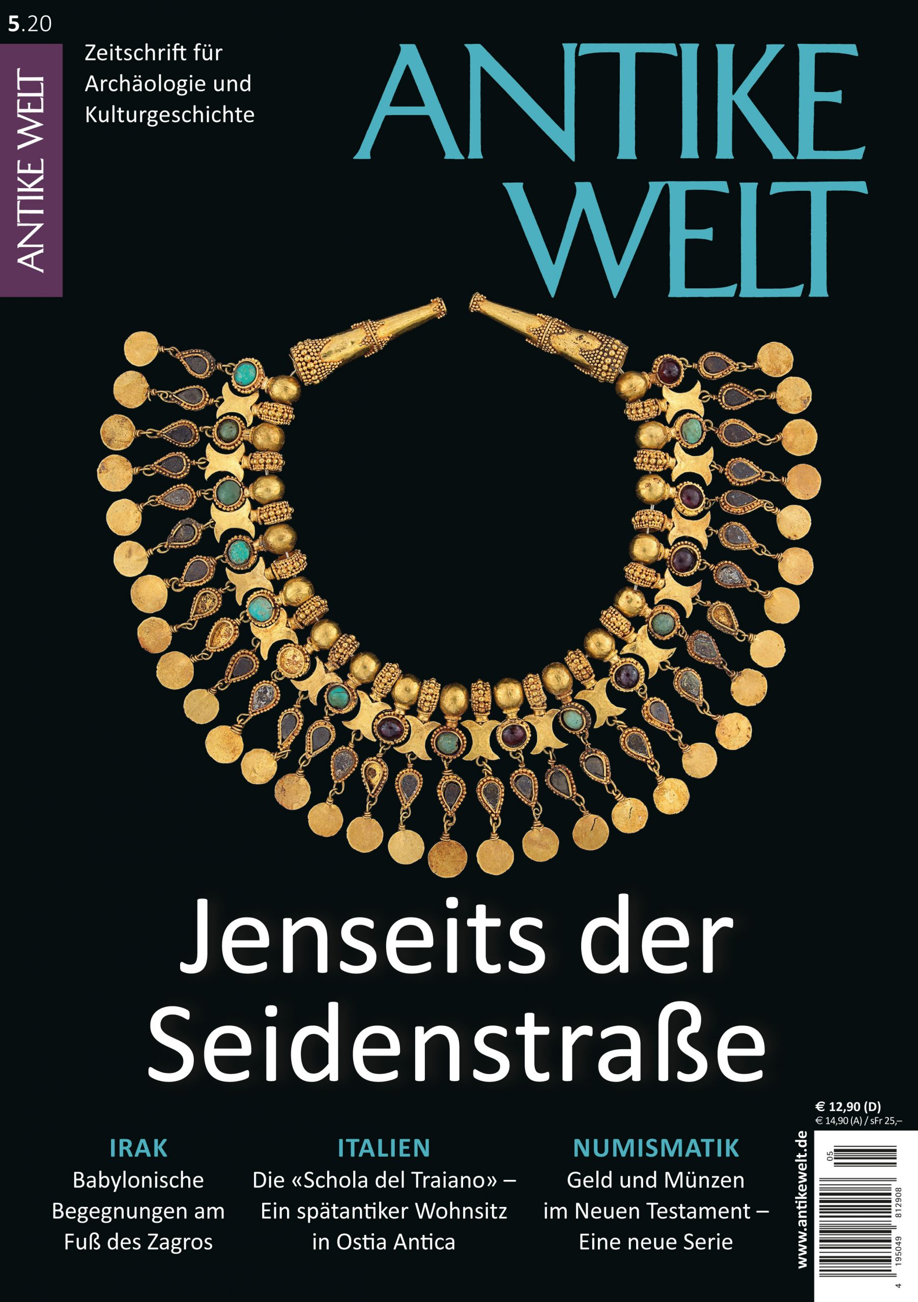 Cover Antike Welt 520