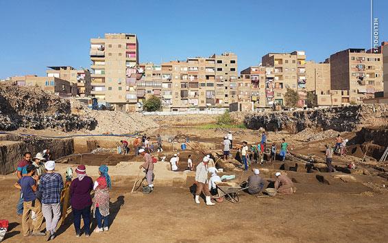 Ausgrabung in Heliopolis