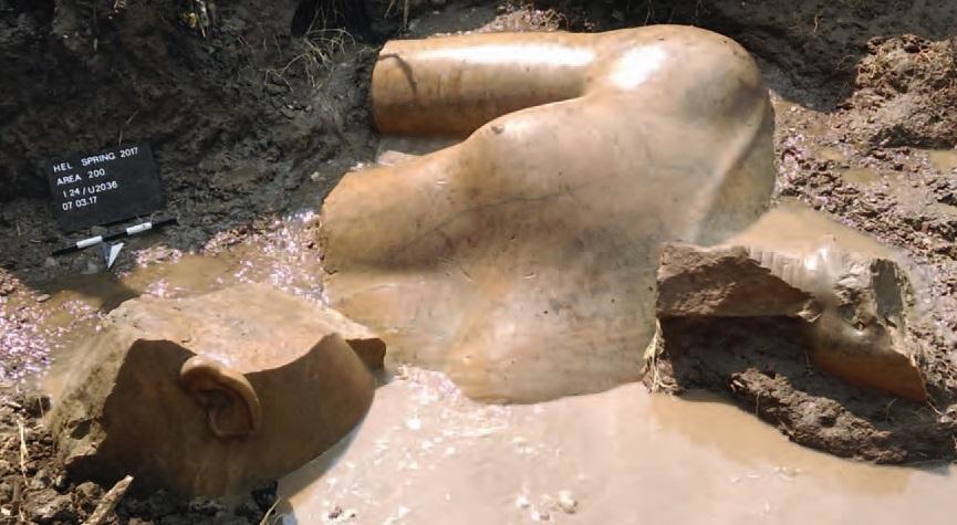 Dietrich Raue, Heliopolis Project, Ägyptisches Museum – Georg Steindorff – der Universität Leipzig.