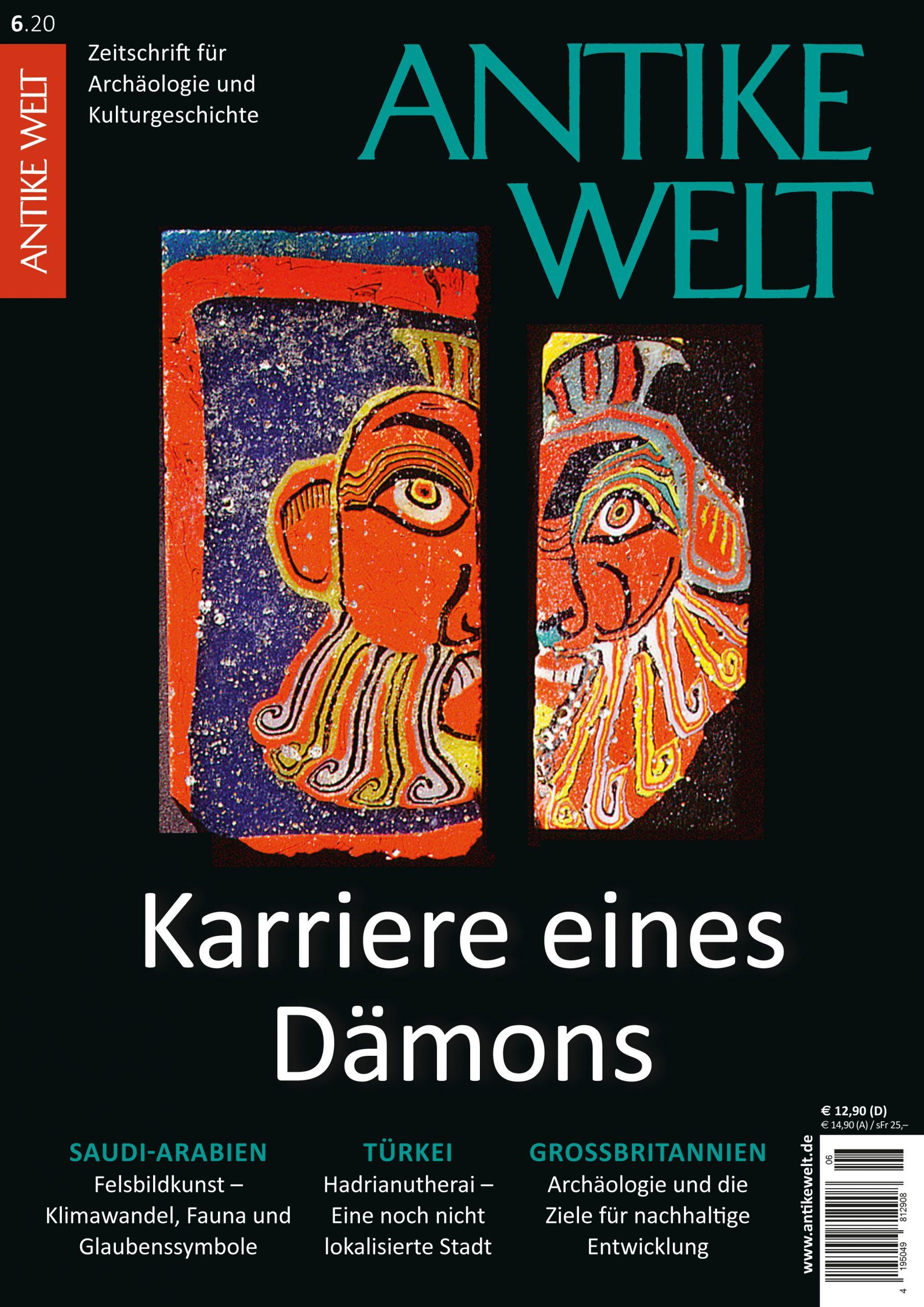Antike Welt Heft 620 Karriere eines Dämons