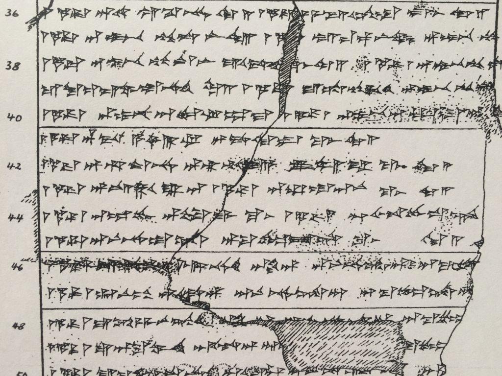 Handkopie: Traditionelle Methode, mit deren Hilfe Keilschrifttexte dokumentiert werden.