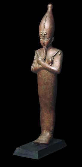 Statuette des Gottes Osiris