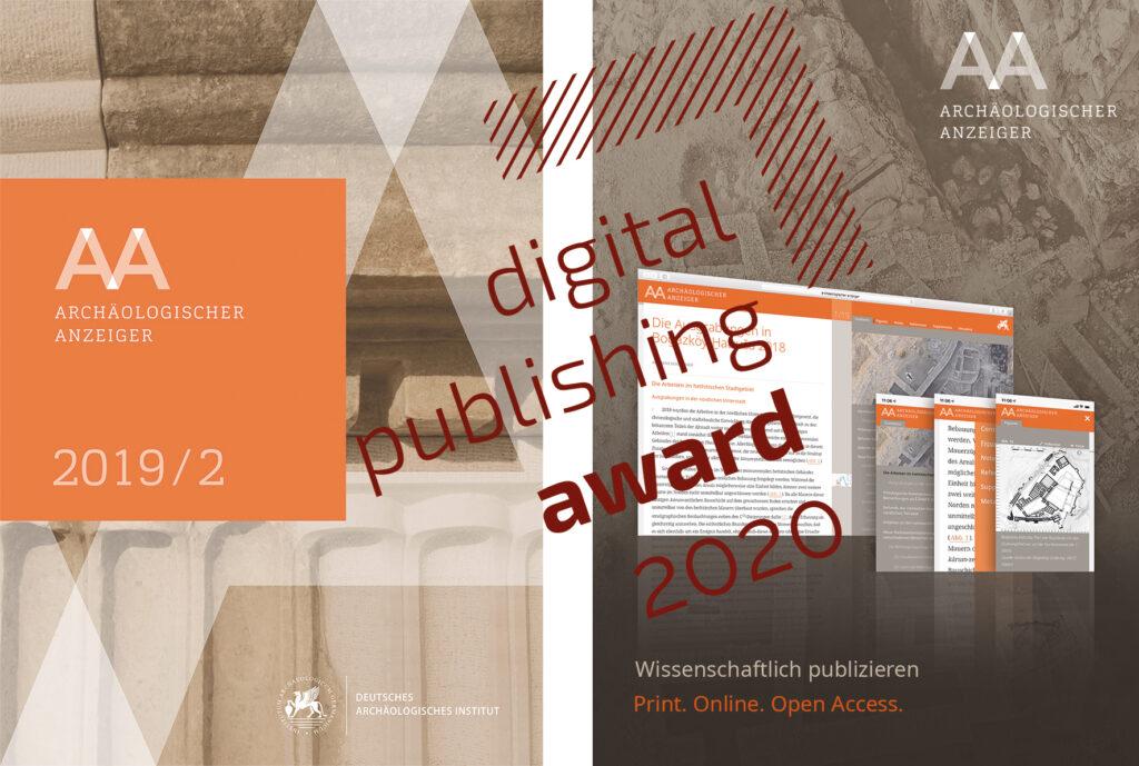 Das DAI erhält den Digital Publishing Award 2020 für seinen Journal-Viewer.