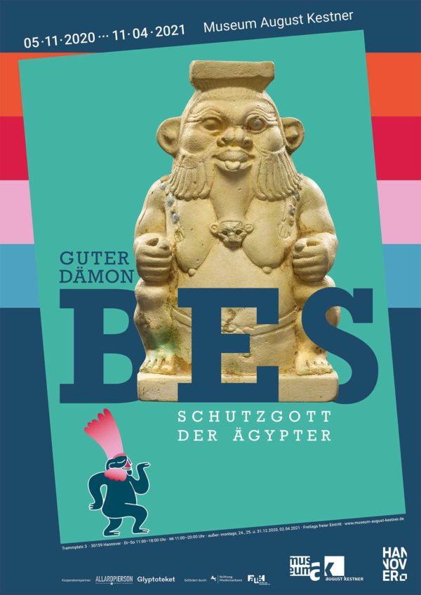 Plakat Bes-Ausstellung