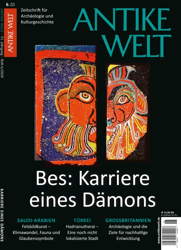 Cover Antike Welt Guter Gott Bes