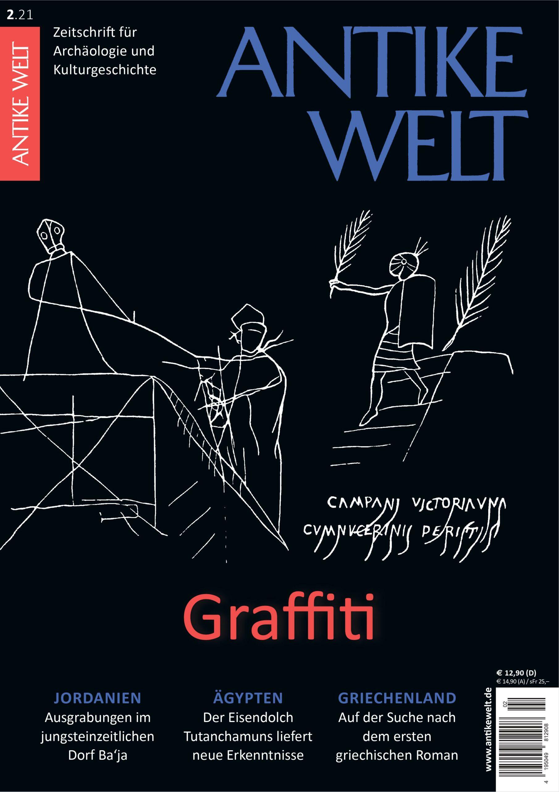 Graffiti – ANTIKE WELT 2/21