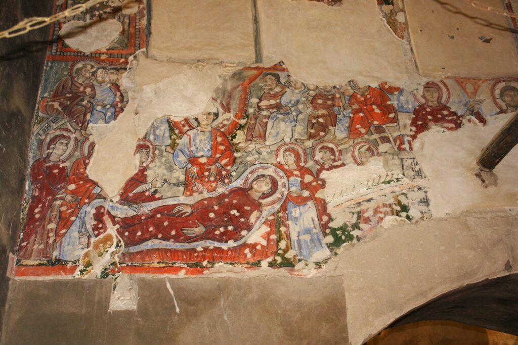 Mönche fertigten diese Gemälde an.