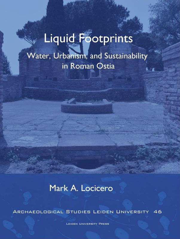 Cover zu Liquid Footprints. Wasserversorgung im römischen Reich wird in dieser Dissertation verhandelt.