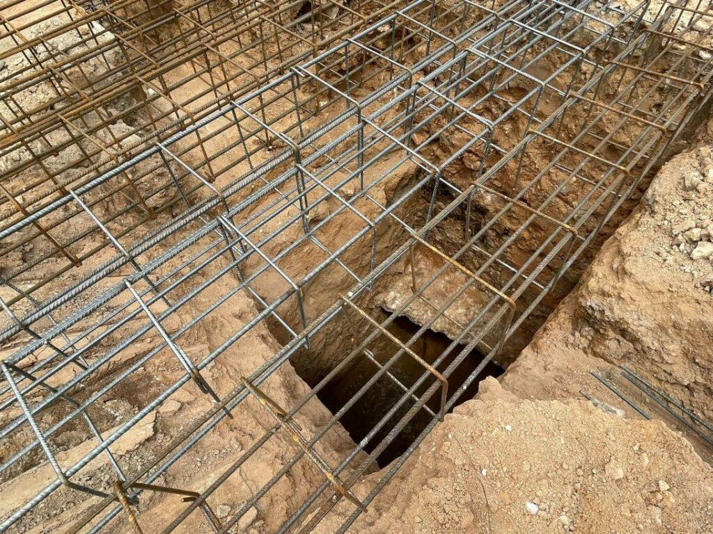 Amphitheater in Toledo. Zu sehen sind die Gewölbe, die bei Bauarbeiten zum Vorschein kamen.