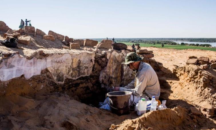 Ausgrabungen in Dongola