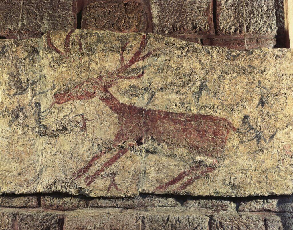 Wandmalerei in Çatalhöyük