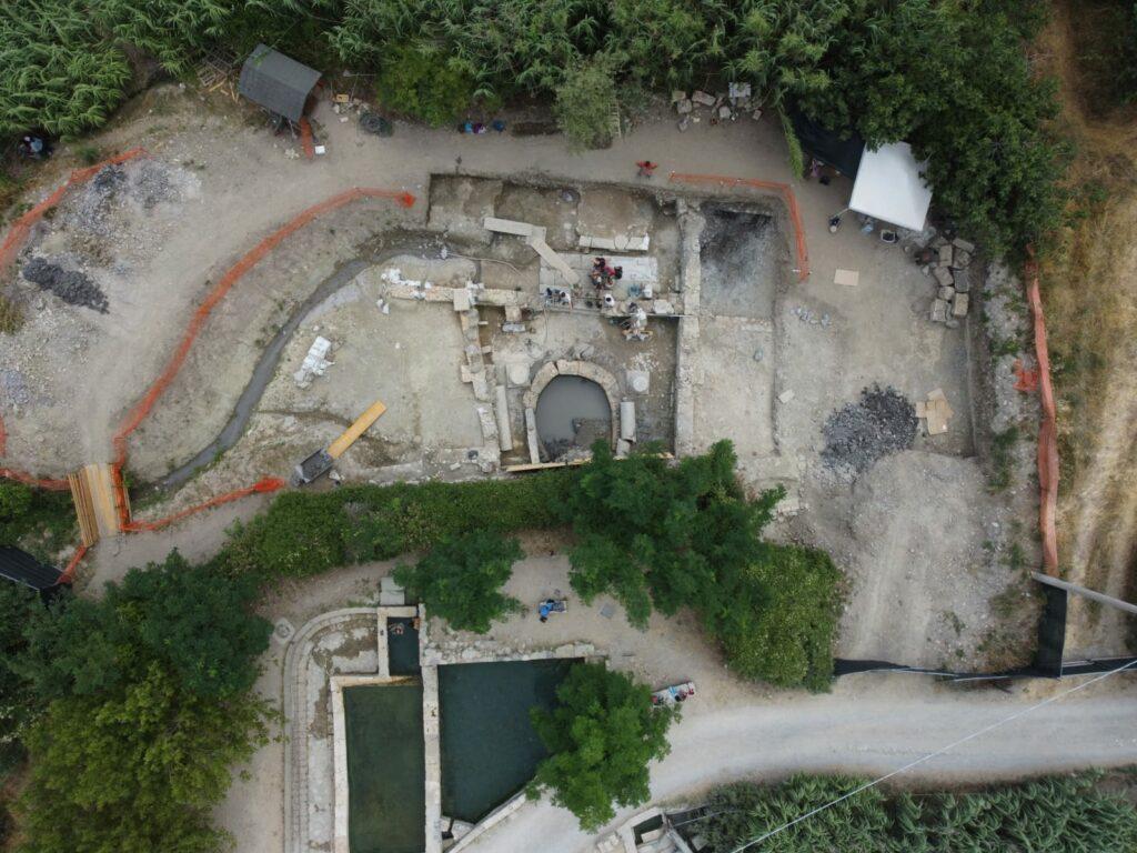 Die Ausgrabung des römischen Heiligtums von Bagno Grande in San Casciano dei Bagni
